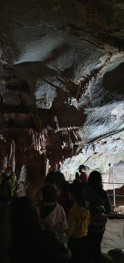 Посещение в пещерата Леденика - ОУ Васил Левски - Враца
