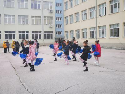Мажоретен състав - ОУ Васил Левски - Враца